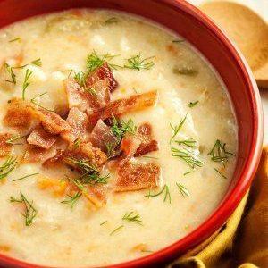 Creamy Cauliflower Chowder Soup