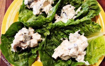 Easy 4 Ingredient Chicken Salad