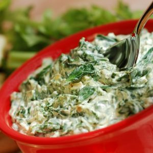 Savory Spinach Artichoke Dip