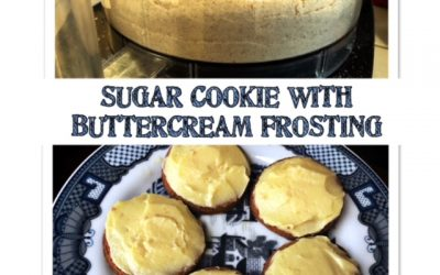 Gluten-free Sugar Cookies with Buttercream Frosting