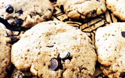 Tigernut Flour Walnut Chocolate Chip Cookie