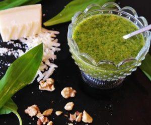 Sweet Potato Salad with Avocado Pesto