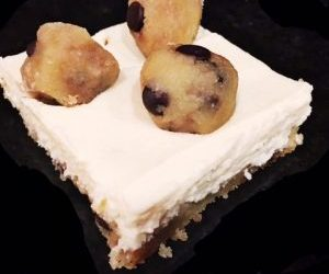 Gluten-free Mascapone Layered Cookie Dough