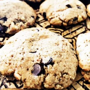 Tigernut Flour Walnut Chocolate Chip Cookie